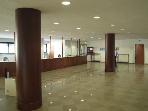 Progettazione dei particolari costruttivi e arredi - Ufficio interno