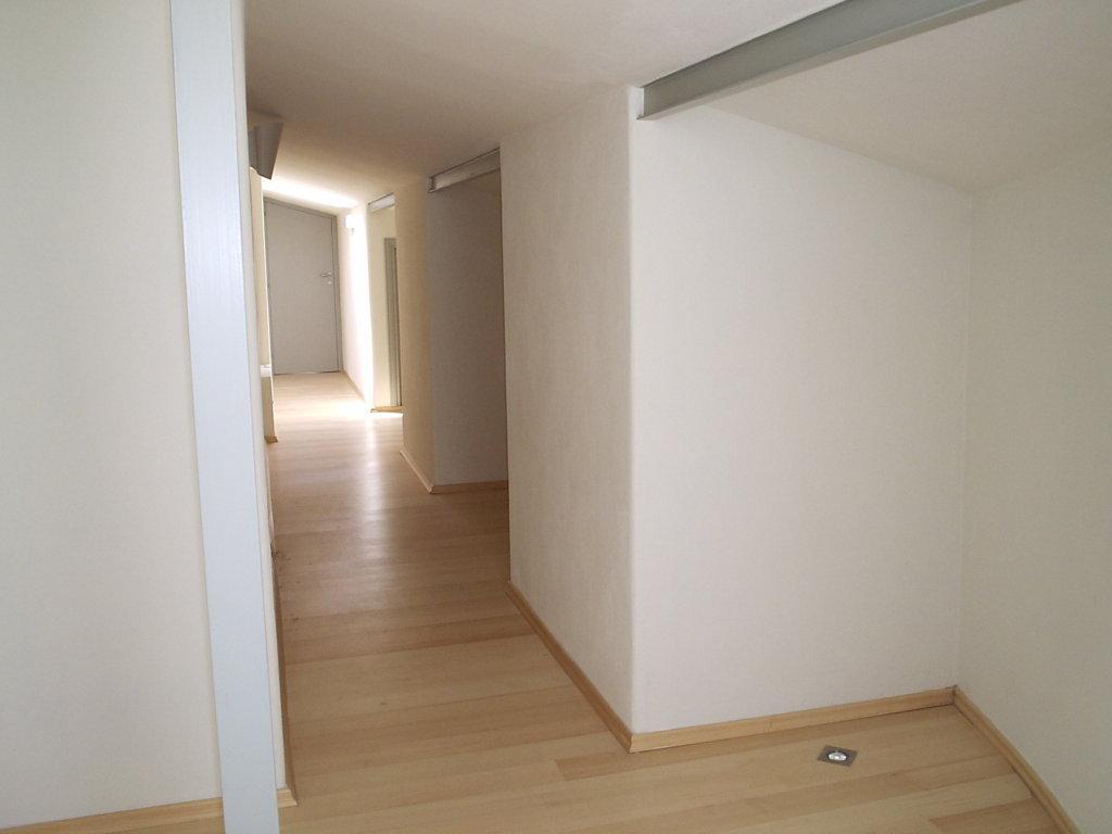Ristrutturazione Hotel Arenella di Isola del Giglio - Grosseto - particolare del corridoio distributivo del piano mansarda