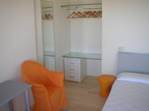 Ristrutturazione Hotel Arenella di Isola del Giglio - Grosseto - particolare degli arredi su misura delle camere E
