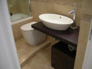 Ristrutturazione edilizia Ristrutturazione Appartamento Galazia a Roma - Dettaglio lavabo bagno