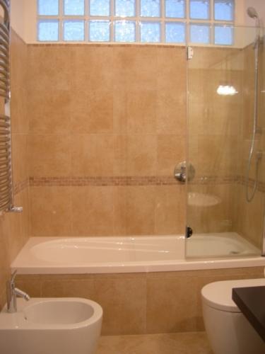 Lavori di Architettura Appartamento Galazia a Roma - Dettaglio vasca bagno