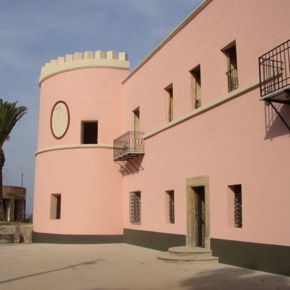 Restauro immobili - ex Carcere dell'isola di S. Stefano - Ventotene - prospetto principale C