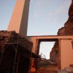 Restauro del'ex Carcere dell'isola di S. Stefano - Ventotene - Particolare dell'approdo all'isola A