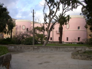 Restauro immobili - ex Carcere dell'isola di S. Stefano - Ventotene - prospetto principale B