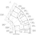 Ristrutturazione Appartamento EUR - Planimetria ante operam