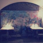 Architetto Roma Alessio Virgili - Particolare della sala ristorante DADA