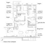Ristrutturazione Villa Rocca Priora (Roma) - Planimetria post operam