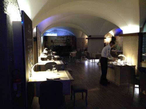 Progetto Ristorante DaDa Roma - Particolare della sala ristorante F