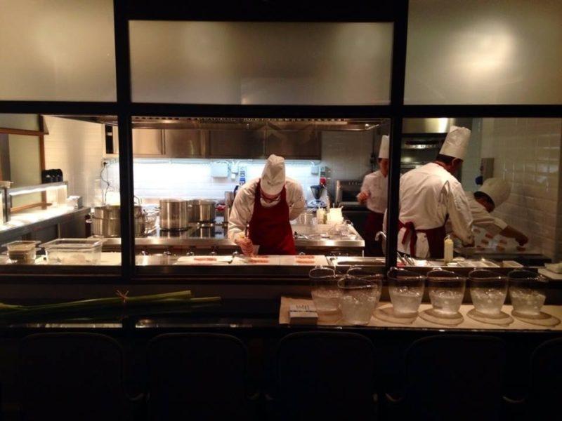 Progetto Ristorante DaDa Roma - Particolare dell'area show cooking B