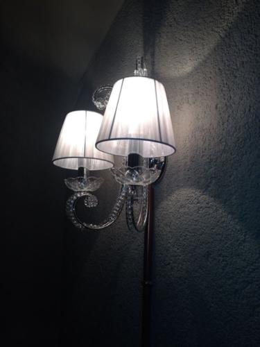 Progetto Ristorante DaDa Roma - Particolare illuminazione pasticceria e shop