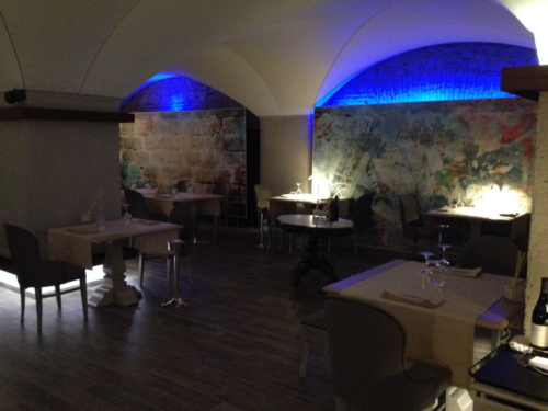 Progetto Ristorante DaDa Roma - Particolare della sala ristorante D