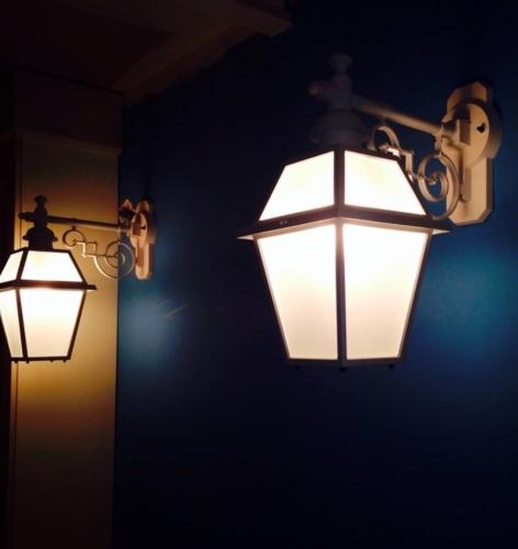 Progetto Ristorante DaDa Roma - Particolare illuminazione sala bar piano terra