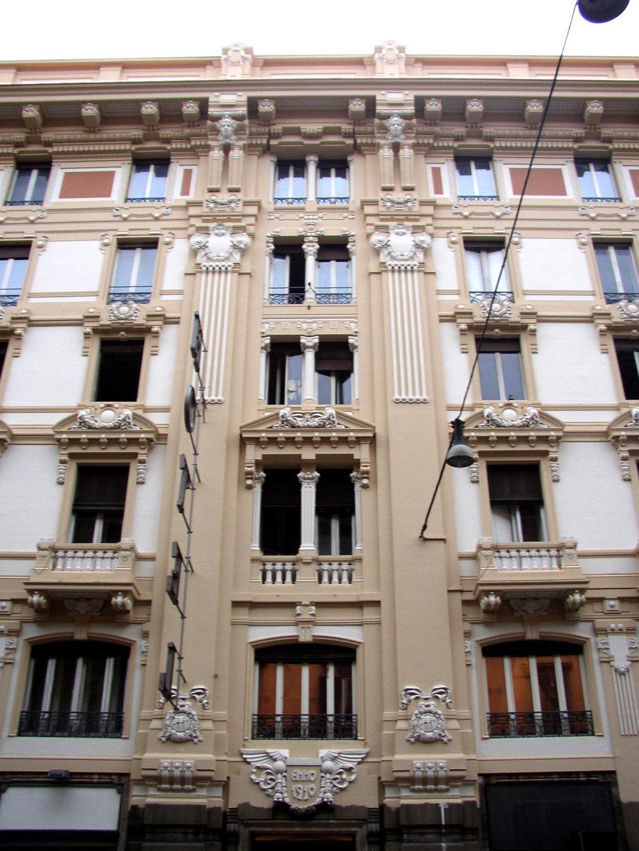 Restauro Edilizio Palazzo Storico Via del Tritone - Roma - Particolare facciata B