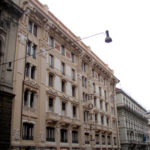 Restauro Palazzo Storico Via del Tritone - Roma - Facciata principale A