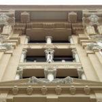 Restauro Palazzo Storico Via del Tritone - Roma - Finestre facciata principale
