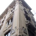 Restauro Palazzo Storico Via del Tritone - Roma - Angolo facciata A