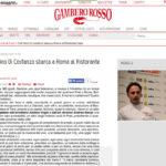 Progetto Ristorante DaDa Roma - Articolo il Gambero Rosso