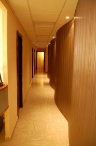 Progetto Centro Benessere Aura - Roma - Corridoio distributivo A