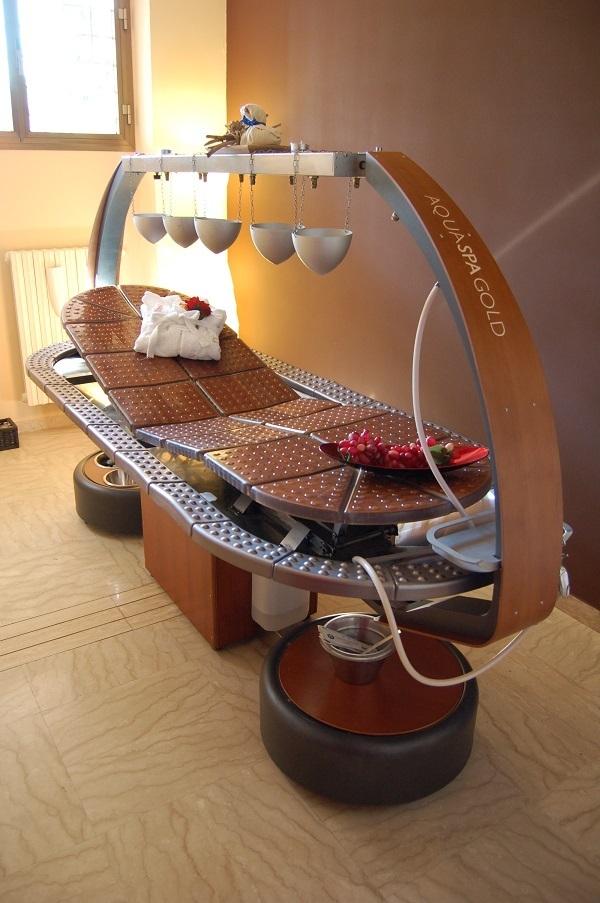 Progetto Centro Benessere Aura - Roma - Stanza Massaggi Aquaspa Gold B