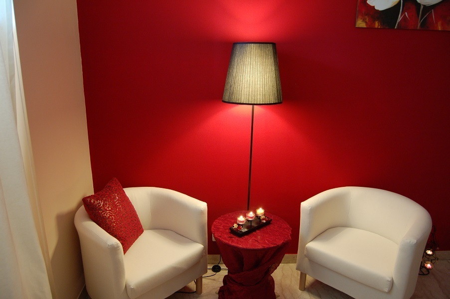 Progetto Centro Benessere Aura - Roma - Stanza Massaggi Fuoco C