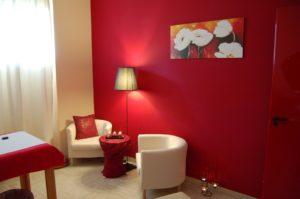 Progetto Centro Benessere Aura - Roma - Stanza Massaggi Fuoco B