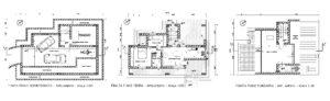 Piano Casa Villa Anagnina - Planimetrie dei locali