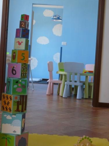 Progetto - Spazio Giochi interno Asilo Nido Le Coccinelle