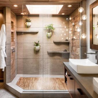 Comfort - Idee bagno - legno