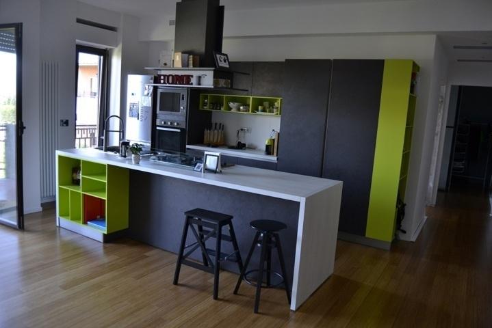 Ristrutturazione stile industriale appartamento don bosco roma