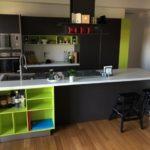 Ristrutturazione Stile industriale vista della Cucina in modalità frontale