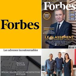Architetto Roma Alessio Virgili su Forbes